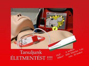 Plakát életmentés